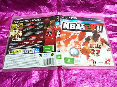 AU5.51 • Buy Nba 2k11 : (sony Ps3 Game, G) No Booklet