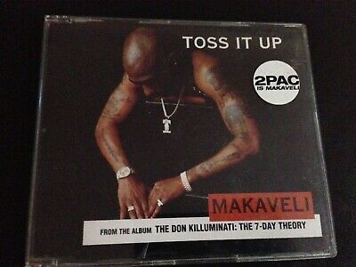 2Pac [aka Makaveli] - Toss It Up (CD / SINGLE) • 5.90£