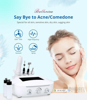 Galvanic Facial Beauty Equipment Ion Cleansing High Frequency Wrinkles Removal • 168.90£