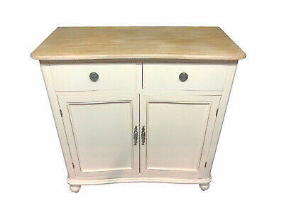 French Country Sideboard Cabinet Cupboard Shabby Chic Vintage Antique Cream • 278£
