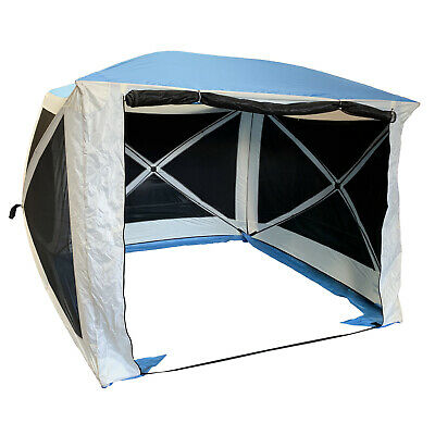 INSTANT 4 POP UP SPRING QUICK ERECT SCREEN HOUSE SHELTER GAZEBO Screenhouse • 109.99£