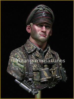 £43.99 • Buy Young Miniatures German Officer 1944 WW2 1/10th Bust YM1831 Kit