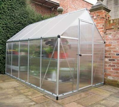 Palram Mythos Greenhouse Walk-in Aluminium And Polycarbonate In 4 Sizes • 499.95£