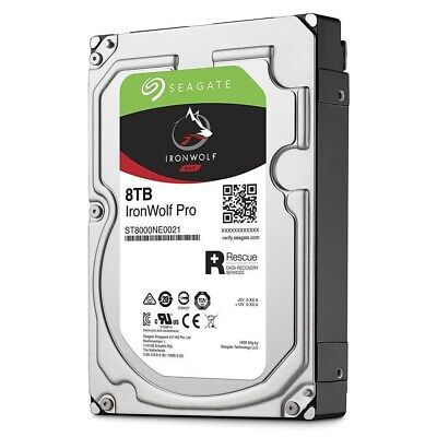View Details Seagate IronWolf Pro (8TB) 3.5 Inch SATA Internal Hard Disk Drive For NAS *Open • 232.80£