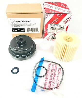$25.53 • Buy NEW GENUINE 04152-YZZA1 Oil Filter With Housing WRENCH And Crush Washer