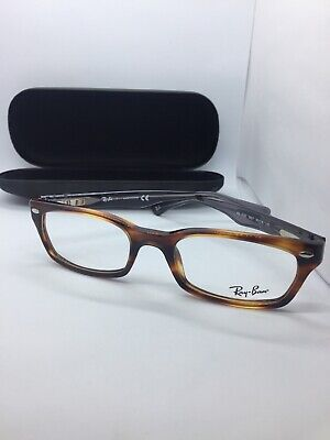 65d87d9a885 New Ray Ban Frames Authentic RB 5150 5607 Eyeglasses Tortoise Gray 50-19-135
