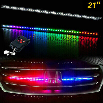 $19.98 • Buy 24  RGB LED Knight Rider Strip Scanning Light Behind Grill For Chevy Trucks