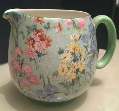Lovely Art Deco Vintage Shelley Melody Jug 6cm X 11cm • 23£