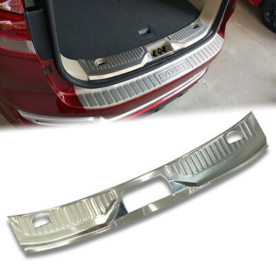 Chrome Rear Bumper Inner Protector Plate Trim For Ford Everest Suv 15 16 17 • 112$
