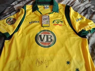 AU179.99 • Buy Adam Gilchrist Signed Cricket Jersey/Shirt Signed Australia Bat 2019 Ashes