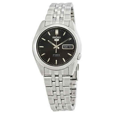 $ CDN98.05 • Buy Seiko Series 5 Automatic Black Dial Men's Watch SNK361