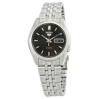 $ CDN97.61 • Buy Seiko Series 5 Automatic Black Dial Men's Watch SNK361