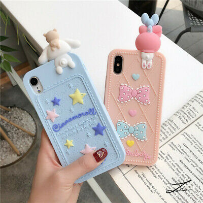 AU11.35 • Buy Cute Cinnamoroll Melody Silicone Rubber Case For IPhone 12 11 Pro XS Max XR 7 8+