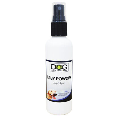 100ml Baby Powder Dog Cologne - Grooming Spray | Distinctive Original Grooming • 5.70£