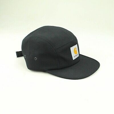 Carhartt Backley 5 Panel Cap Brand New In Black One Size Fits All • 34.99£