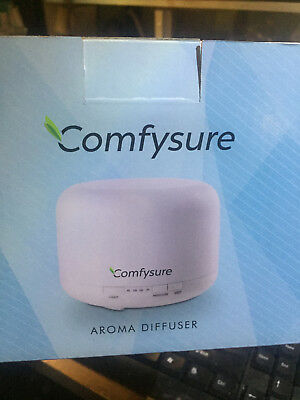 AU29.24 • Buy ComfySure 500ml Aroma Diffuser For Essential Oil Aromatherapy & Ultrasonic Cool