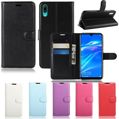 AU8.95 • Buy For JB HiFi HUAWEI Y7 Pro 2019 New Premium PU Leather Wallet FLIP Case TPU Cover