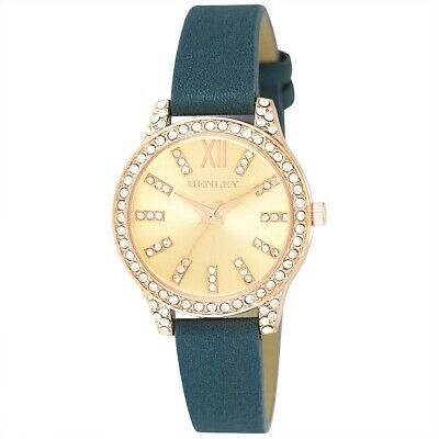 £114.99 • Buy Womens  Henley Watch Triple Diamante Index Rose Gold  Very Sophisticated 6120.11