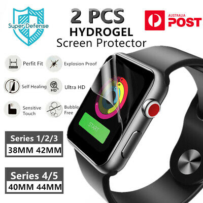 AU7.49 • Buy HYDROGEL Screen Protector For Apple Watch IWatch Series 1/2/3/4/5 38/40/42/44MM
