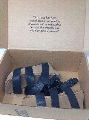 958c8ad911a7 Pierre Dumas Women s Hester-5 Vegan Leather Strappy Wedge Sandals 6