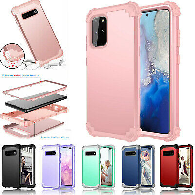 AU11.99 • Buy For Samsung Galaxy S10 & S20 Plus 5G Rubber Shockproof Heavy Duty Hard Back Case