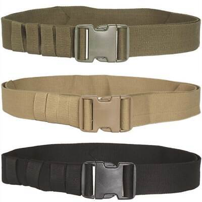 Mil-Tec Mens Military Army Belt Quick Release Buckle Tactical Security 50mm Wide • 5.95£
