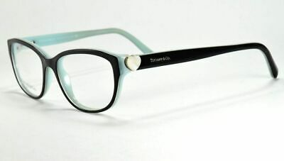874143233c55 Tiffany   Co Eyeglasses TF 2087-H 8163 Black Blue Frame 52 Mm • 88.00
