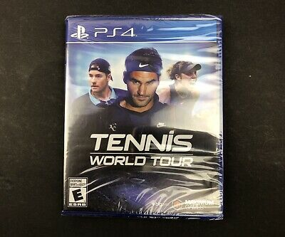 AU41.61 • Buy PS4 NEW Sealed Tennis World Tour Game Sony PlayStation 4