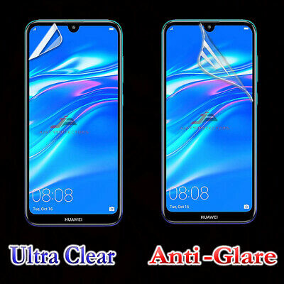 AU3.49 • Buy 2x Clear & Anti-Glare Matte Screen Protector Film Guard For Huawei Y7 Pro 2019