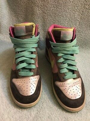 best service 162fd 48049 Nike Dunk High 6.0 Womens Multicolor Size6.5 342257-531 • 35.00