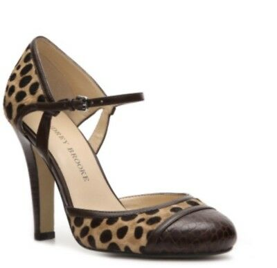 0176ffc3a7 AUDREY BROOKE Shoes High Heels Women's SIZE 6M Leopard Pony Hair Leather  Lanelee • 29.95$