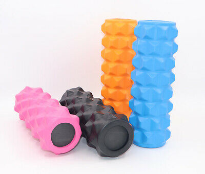 AU26.85 • Buy Foam Roller Yoga Column Pilates Massage Ball Physio Back Fitness Point Trigger