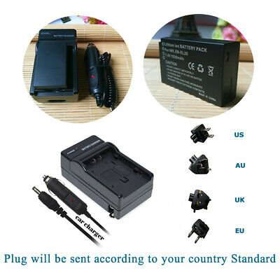 AU19.94 • Buy Replacement Battery And Charger For EN-EL20 MH-27 & Nikon Coolpix P1000 Camera