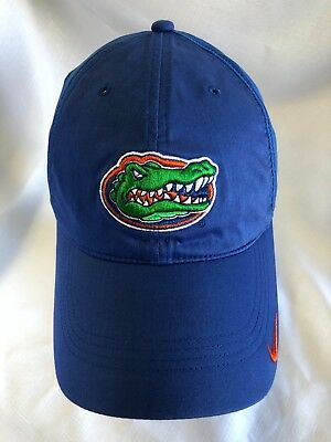 44b0aca5aaffb NIKE Florida Gators Royal Blue Swoosh Performance Mesh Adjustable Hat Cap  Mens • 19.99