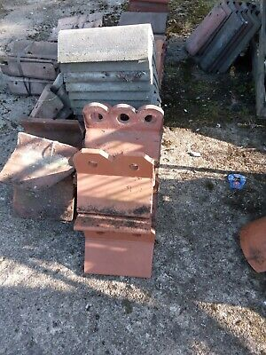 £3.50 • Buy Ridge Tiles Various Types And Quantities FROM £3.50 Per Length
