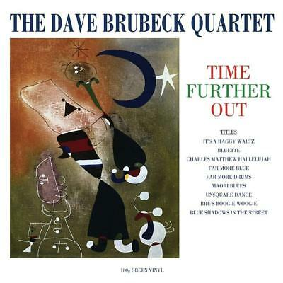 Dave Brubeck Quartet Time Further Out 180g Vinyl LP Record • 15.49£