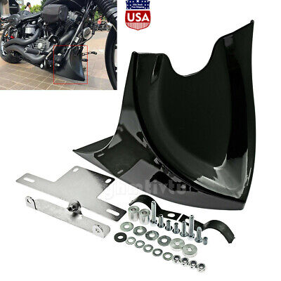 $47.49 • Buy Universal Motorcycle Fairing Front Spoiler Fit For Harley Honda Yamaha Kawasaki