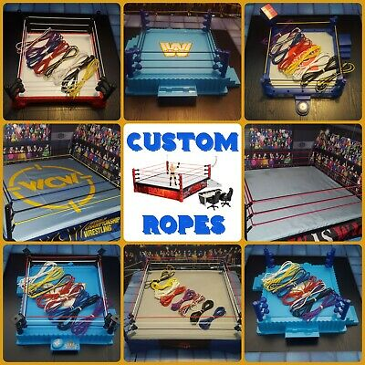 Replacement Ropes For WWE Wrestling Figure Rings Retro ASR Hasbro Mattel *Read* • 4.50£