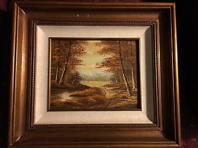 $ CDN72.57 • Buy Signed Vintage Phillip Cantrell Oil On Board Painting