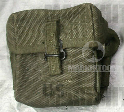 $258.55 • Buy Vietnam M1956 M56 Canvas Short 20rd Universal Pouch Date 1968 NEW Old Stock