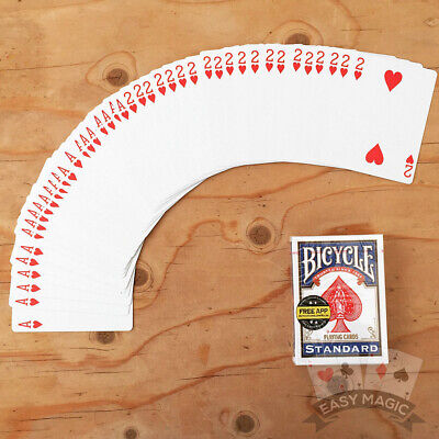 Two Way Force Deck | Bicycle Playing Cards | Red Or Blue Back | Choose Forces • 4.99£