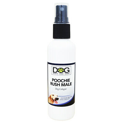 100ml Poochie Rush Male Dog Cologne - Grooming Spray - Pet Perfume • 5.99£