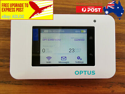 AU145 • Buy Unlocked Netgear Aircard AC800S Optus 4G Cat 11 600mpbs Mobile WiFi Modem Router