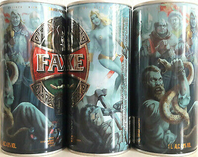 $ CDN11.80 • Buy Faxe Limited  Ragnar & Valkyrie , Empty Can Beer, 1L, Open Down.