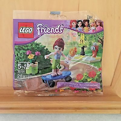 Lego Friends 'mia's Skateboard' - Polybag (30101) - New Unopened Package! • 6.20£