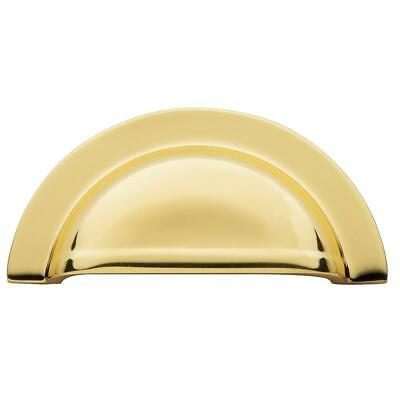 $7.16 • Buy Baldwin 4423030 Cup Cabinet Pull, Bright Brass