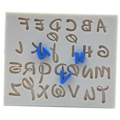 £2.94 • Buy Alphabet Letter Silicone Fondant Mold Cake Chocolate Sugarcraft Cutter Mould T