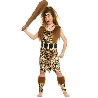 Stone Age Cave Girl Fancy Dress Costume • 13.34£