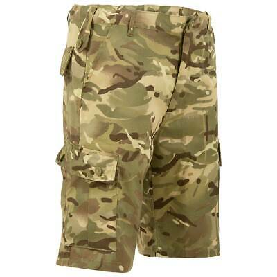 Mens Highlander Elite Camouflage Shorts Army Military Combat Cargo Tactical • 19.95£