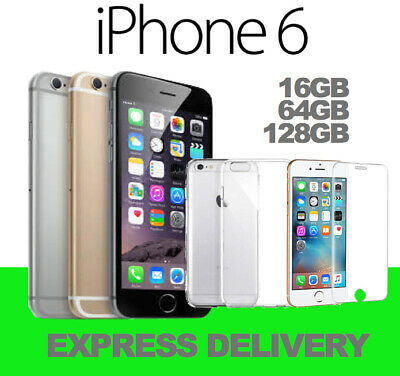 AU185 • Buy APPLE IPHONE 6 16GB 64GB 128GB 4G LTE GREY GOLD SILVER 100% UNLOCKED USED